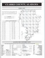 Index Map, Clarke County 1998